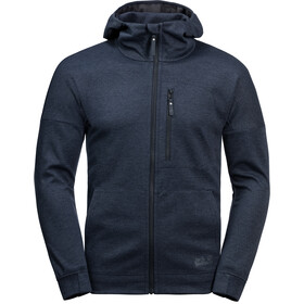 Jack Wolfskin Riverland Hooded Jacket Men night blue